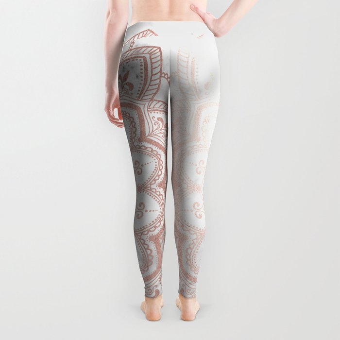 Pleasure Rose Gold Leggings