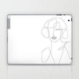 Abstract Beauty Outline Laptop & iPad Skin