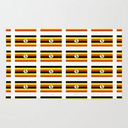 Flag of Uganda – Ugandan,ugandes,Kampala,Kyoga,Turkana. Rug
