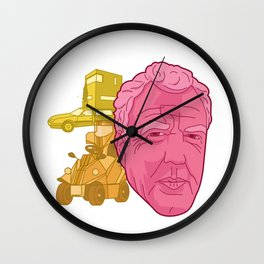 Topped Out Wall Clock
