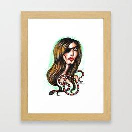 Elle Driver Framed Art Print