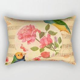 Songs and Birds Rectangular Pillow
