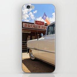 Cadillac, Broken Spoke iPhone Skin
