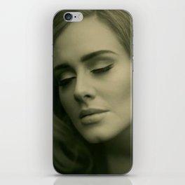adelehello iPhone Skin
