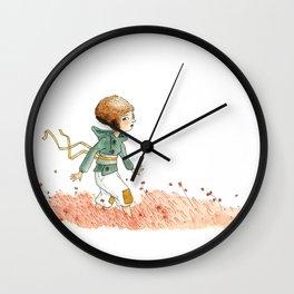 Dans la bruyère Wall Clock