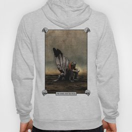 The Angel And The Skull Hoody