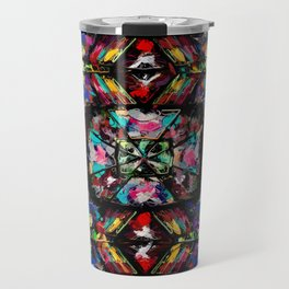 Ecuadorian Stained Glass 0760 Travel Mug
