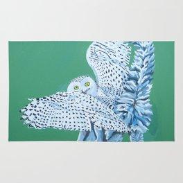 Cat Owl Rug