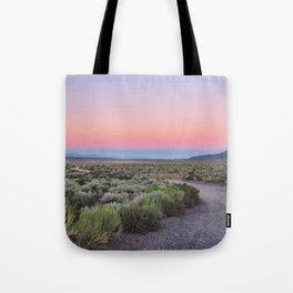 California Desert Road Tote Bag