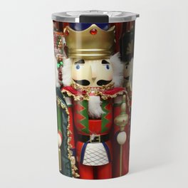 Nutcracker Soldiers Travel Mug