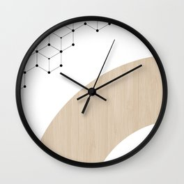 Scandinavian Print 1 Wall Clock