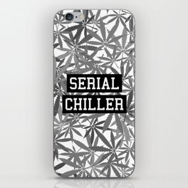 Serial Chiller B&W iPhone Skin
