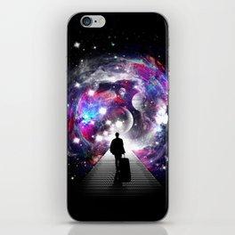 Space Traveler iPhone Skin