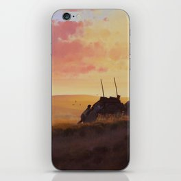 'Faith in Every Footstep' iPhone Skin