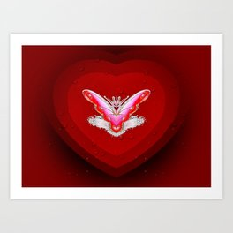 Love Zone Art Print