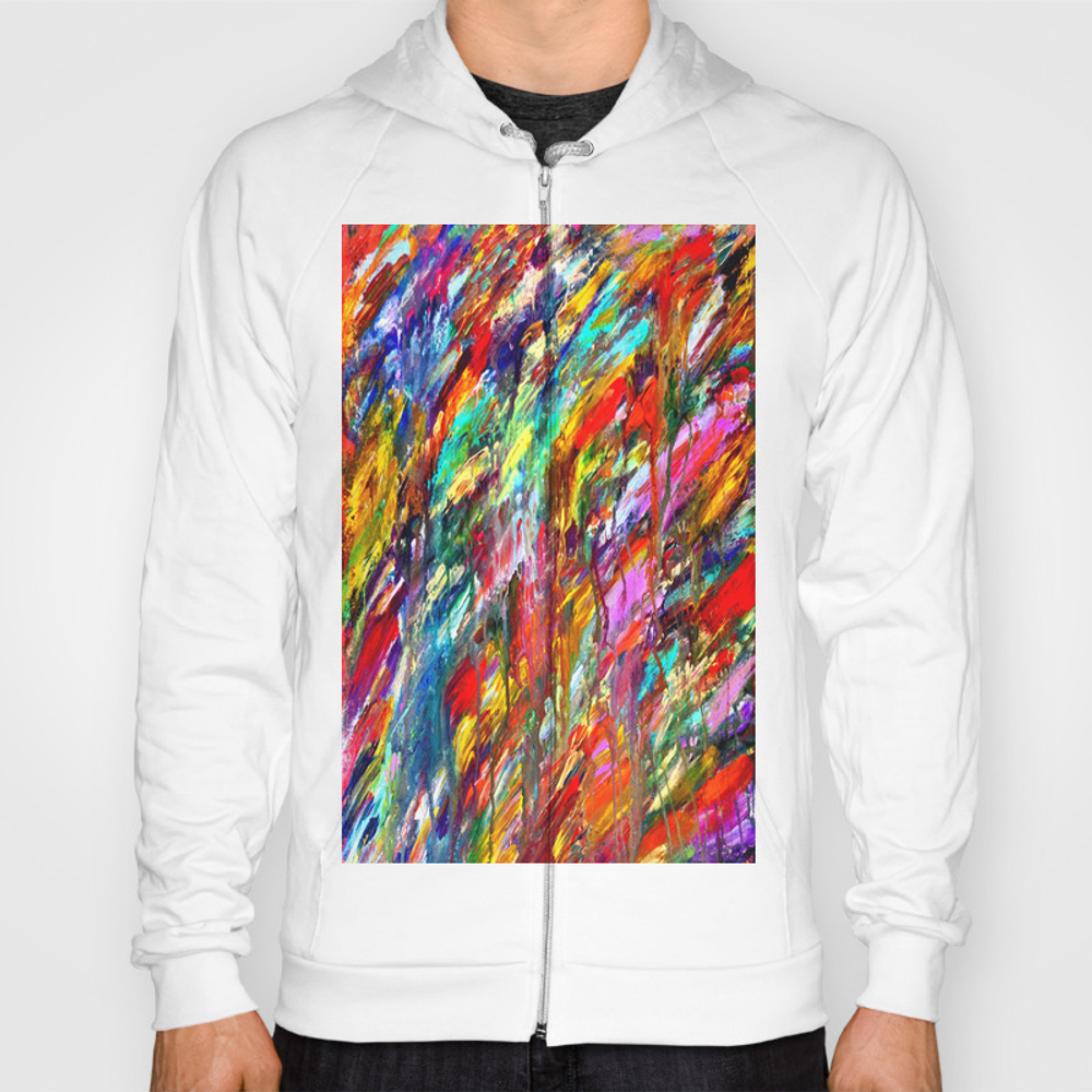 Colorful Waters Sweat Shirt by Devinparry SSR962244