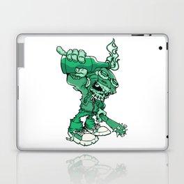Anarchy Skeleton - Mountain Meadow Laptop & iPad Skin