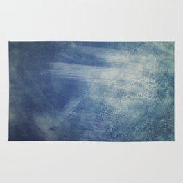 texture bleue Rug