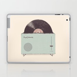 High Fidelity Toaster Laptop & iPad Skin