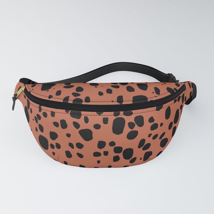 Earth Cheetah Animal Print Fanny Pack