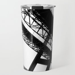 a bridge over troubled waters Travel Mug