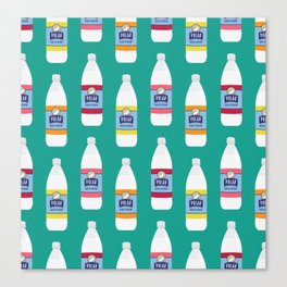 Polar Seltzer Canvas Print