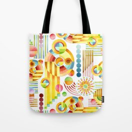 Abstract Art Deco Tote Bag