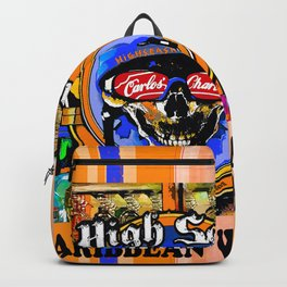 SKULL OUTLAW CARIBBEAN SALOON AND BAR Backpack