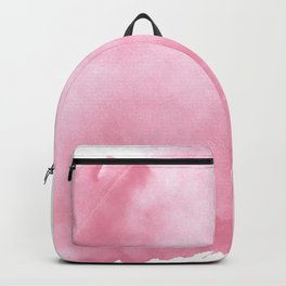Watercolor pink Backpack