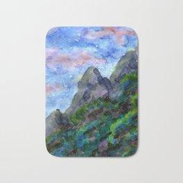 Sundowner Mountains Bath Mat