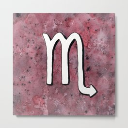 Zodiac sign : Scorpio Metal Print