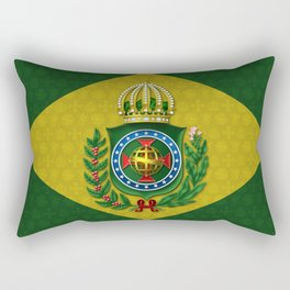 Dom Pedro II Coat of Arms Rectangular Pillow
