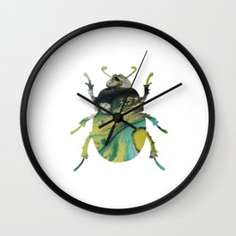 Beetle Scarabaeus Wall Clock
