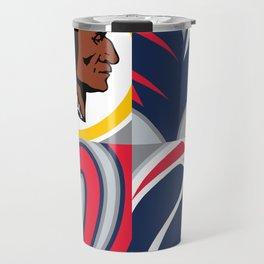 Sam's new bedspread Travel Mug