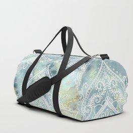 MANDALA ON MARBLE Duffle Bag
