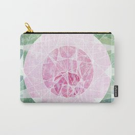 Watermelon Geometery Carry-All Pouch