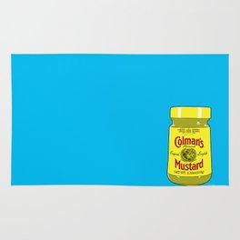 Proper Mustard Rug