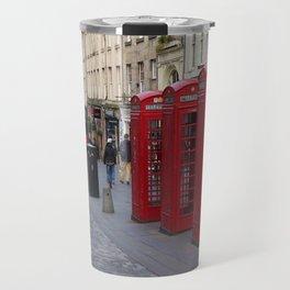 Telephone Booths Royal Mile Edinburgh Travel Mug