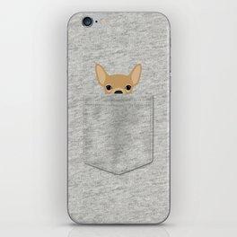 Pocket Chihuahua - Tan iPhone Skin
