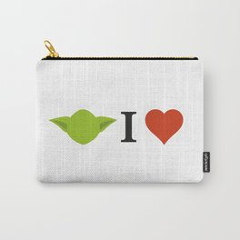 Yoda I Love Carry-All Pouch