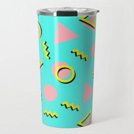 Memphis pattern 61 Travel Mug