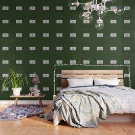 Chinese zodiac sign Tiger green Wallpaper