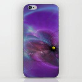Gravitational Distort Space Abstract Art iPhone Skin