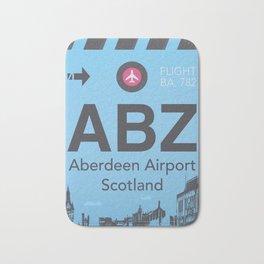 ABZ airport Bath Mat