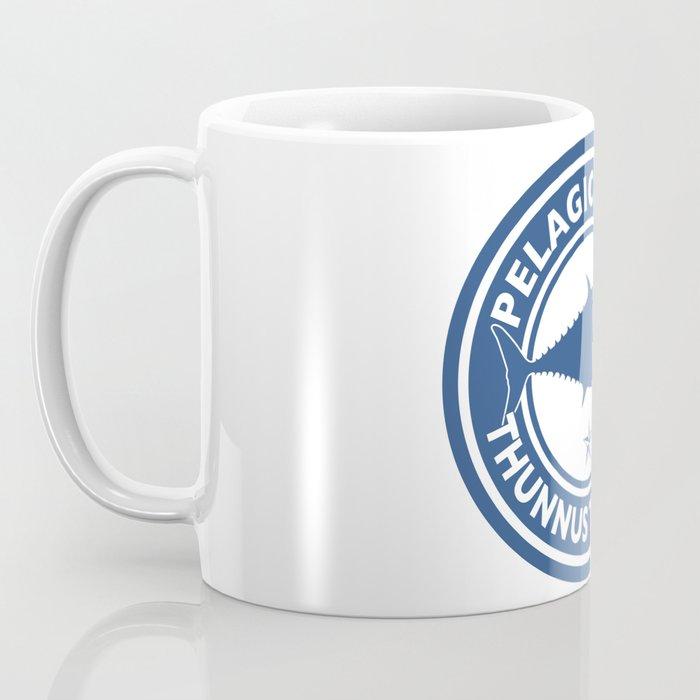 Graphic Bluefin Tuna Design Coffee Mug
