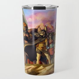Menacing defense Travel Mug