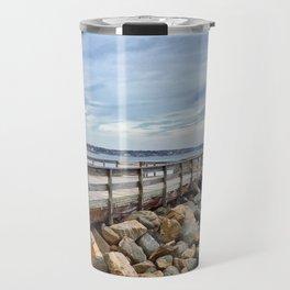Salem Willows Boardwalk Travel Mug