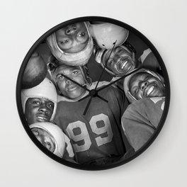 Vintage Football Photo - Gordon Parks, 1943 Wall Clock
