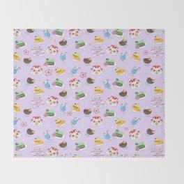 Inner Senshi Sweets Throw Blanket