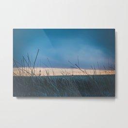 Base Pond, Saint Marie MT 4 Metal Print
